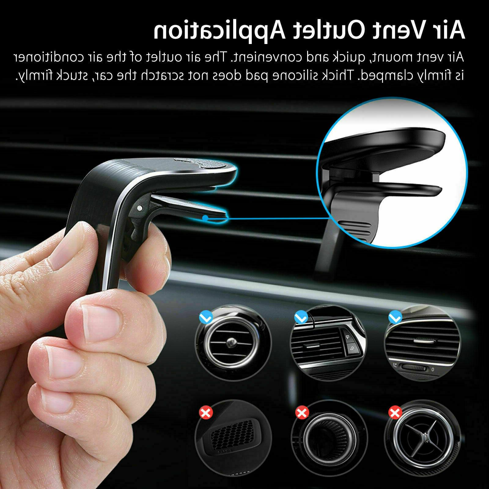 2-Pack Car Magnet Air Universal For Phone