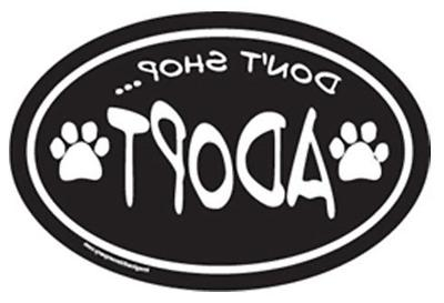 car magnet paw who rescued
