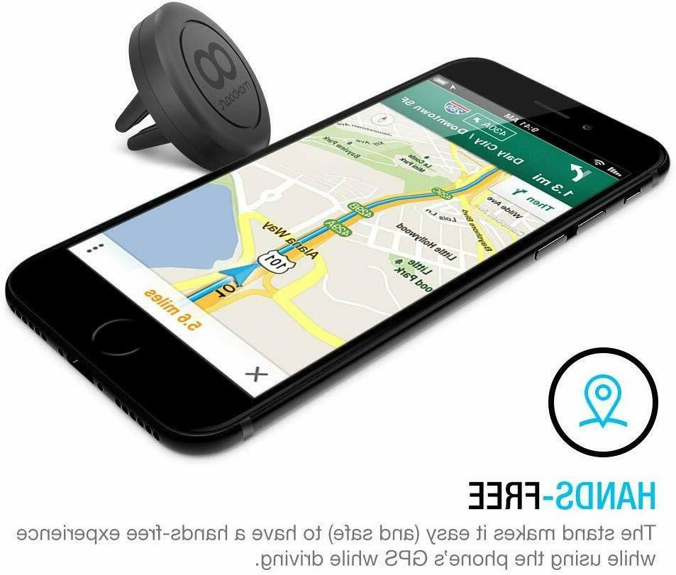Car Phone Mount to Vent Magnetic Holder