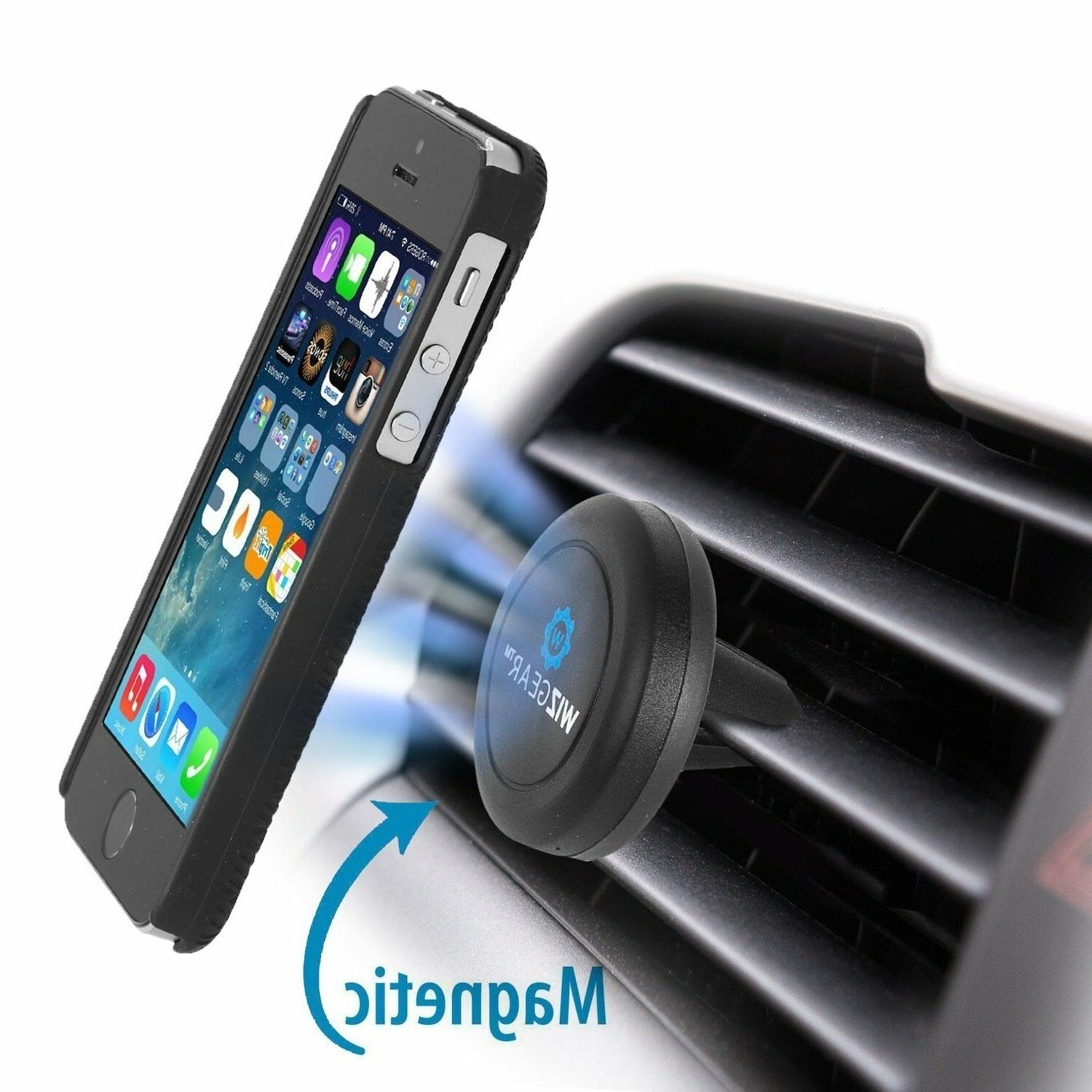 WizGear Car Mount Magnetic Air Vent Grip