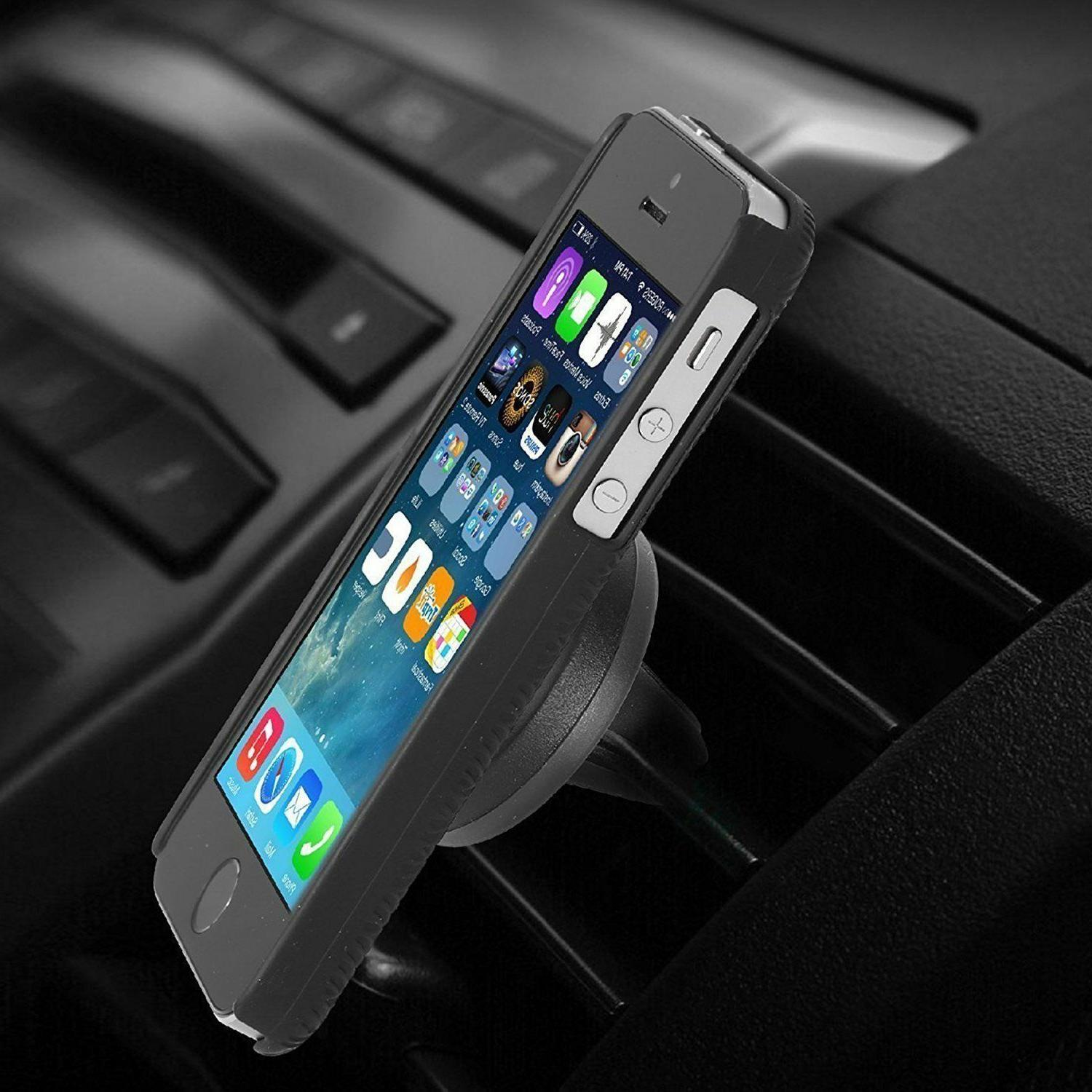AILUN Magnetic Air Vent Phone Holder iPhone 7 6S 6 Black