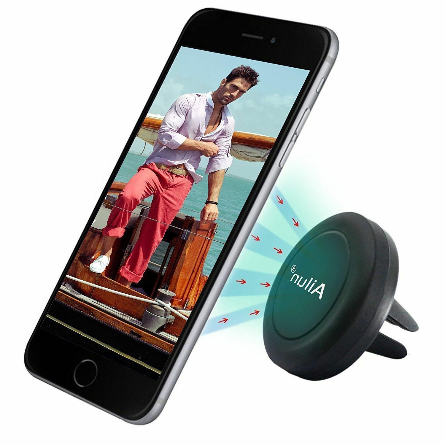 AILUN Mount Magnetic Air Vent Phone Holder iPhone 7 Black