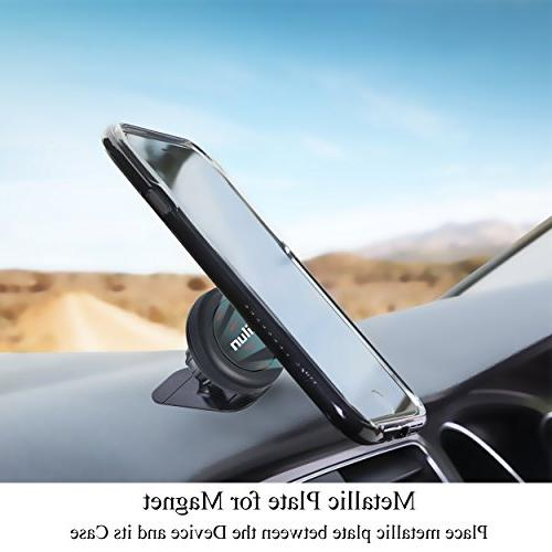 Ailun Phone Key Holder Dashboard Magnetic Holder,Compatible with iPhone Max,Compatible Galaxy S9/S9+ S8 Other Smartphones