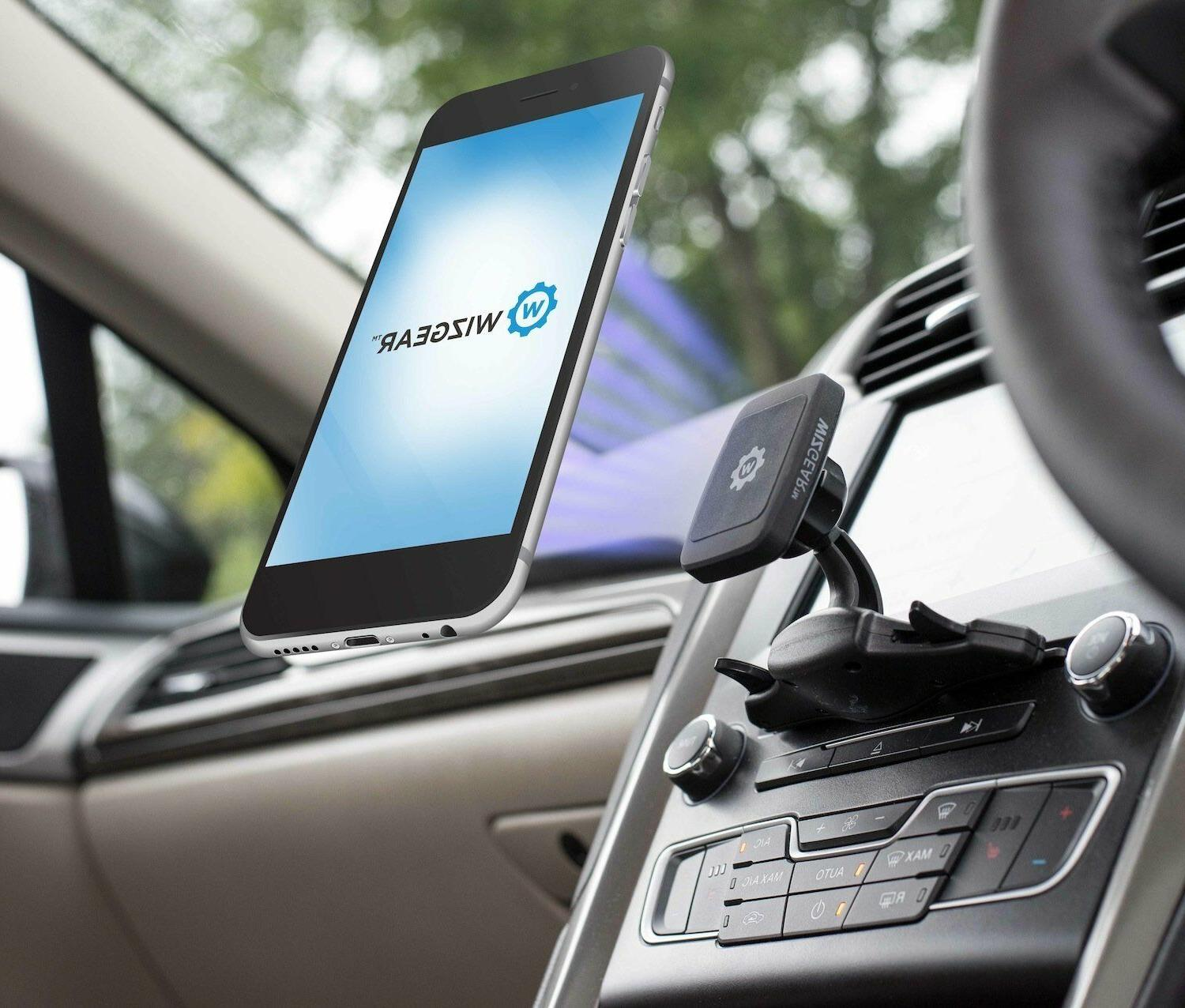 CD Slot Cell Mount iPhone Tablet Vent