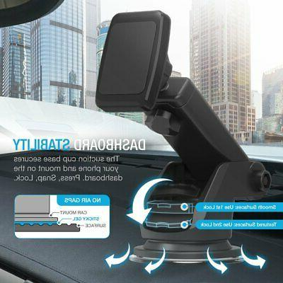 Maxboost Dashboard Magnetic Car Mount for iPhone and Galaxy