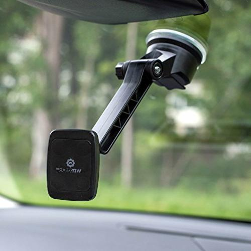 Dashboard WizGear Magnetic Car Windshield Mount and Mount Holder Phones Long Arm