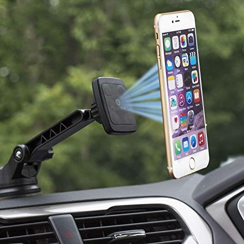 Dashboard Universal Magnetic Car Windshield Mount for Phones AND TABLETS Long