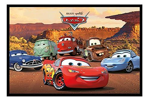 Disney Pixar Cars Characters Poster Magnetic Notice Board