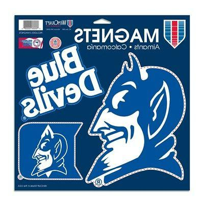 Duke Blue Devils Official NCAA 11 inch x 11 inch Car Magnet