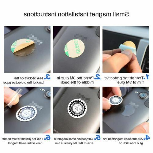 Magnetic Holder Dash Rotating For iPhone GPS Samsung