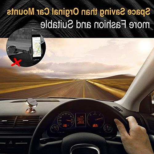 TORRAS Car 360 Rotation Car Holder Dashboard Phone with Samsung Galaxy 9 / S9 Plus / S7, iPhone X / / and More