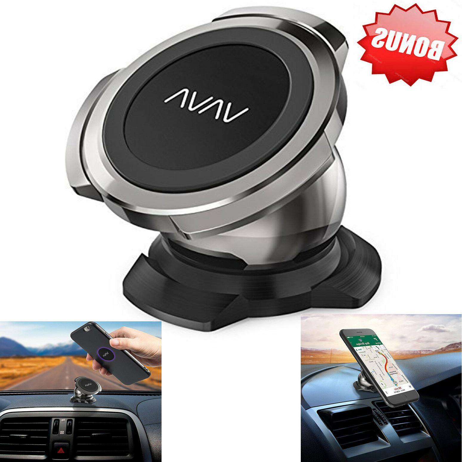 Magnetic Car Phone Holder for Car Dashboard with a Super Str