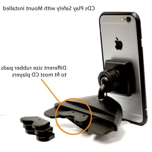 Magnetic Holder CD Slot - iPhone Samsung GPS
