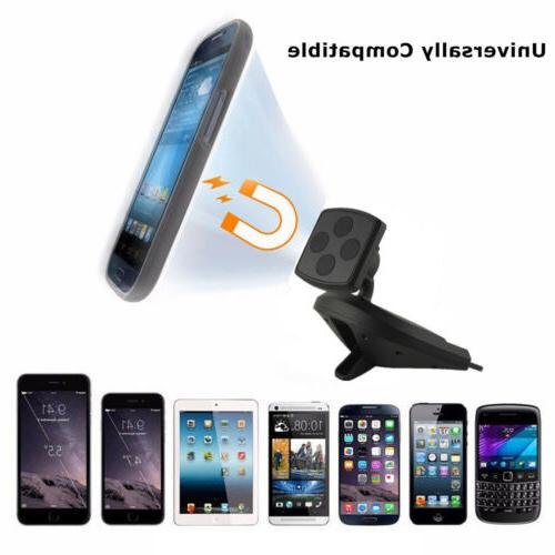 Magnetic Cell Phone Car Holder CD - Smartphone iPhone