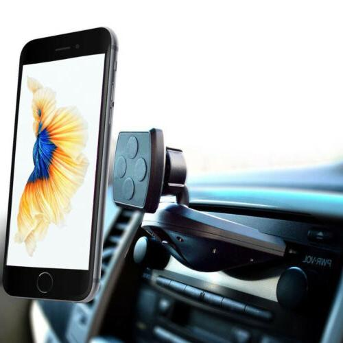 magnetic cell phone car holder cd slot