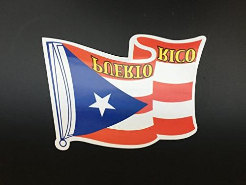 Magnetic Puerto for Car, Boat, Office, Home, Boricua Hasta Fin