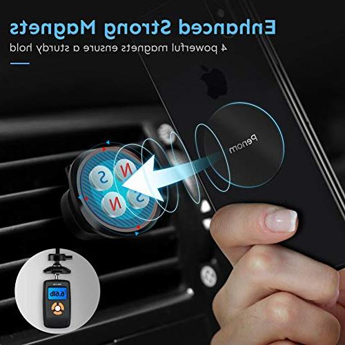Magnetic Phone Car Penom Phone for Air Vent Car Mount Fits Max XR 7 6S Samsung Galaxy Note 9 8 and Most