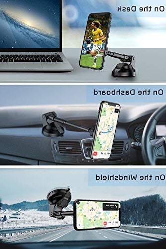 """VANMASS Magnetic Car and with Strong and Compatible 3.5""""-7"""" Phone"""