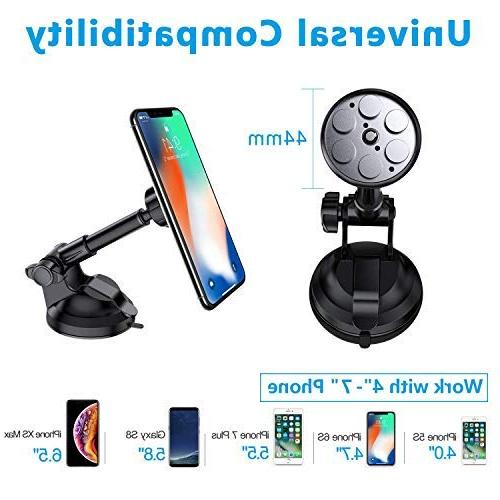 """VANMASS Mount, Hands-Free and with Compatible 3.5""""-7"""" Phone"""