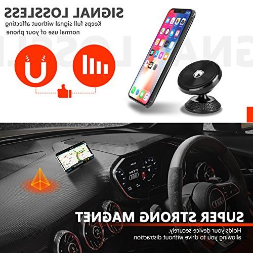 Magnetic for - FITFORT Universal Rotation Car Phone X XR 8 S8 Note Mini Tablet More