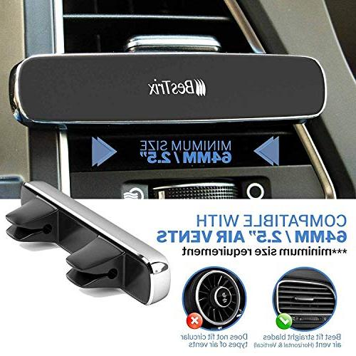 Bestrix Magnetic Holder for Car Air Super & Luxury with Smartphones Mini Tablets