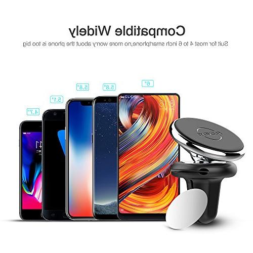 FLOVEME Magnetic Phone Car Mounts - Vent with for for iPhone XR X 8 6 Samsung S9 Plus