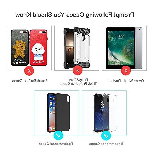 FLOVEME Mounts Holder - Vent Car Magnet Cell Phone for Car for iPhone XR X 7 6 S9 Plus S7,