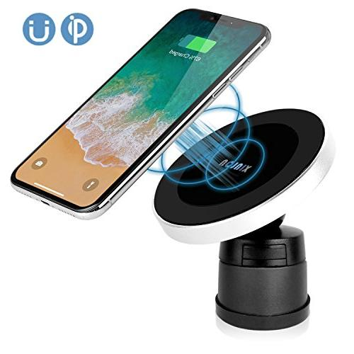 magnetic wireless car charger w5