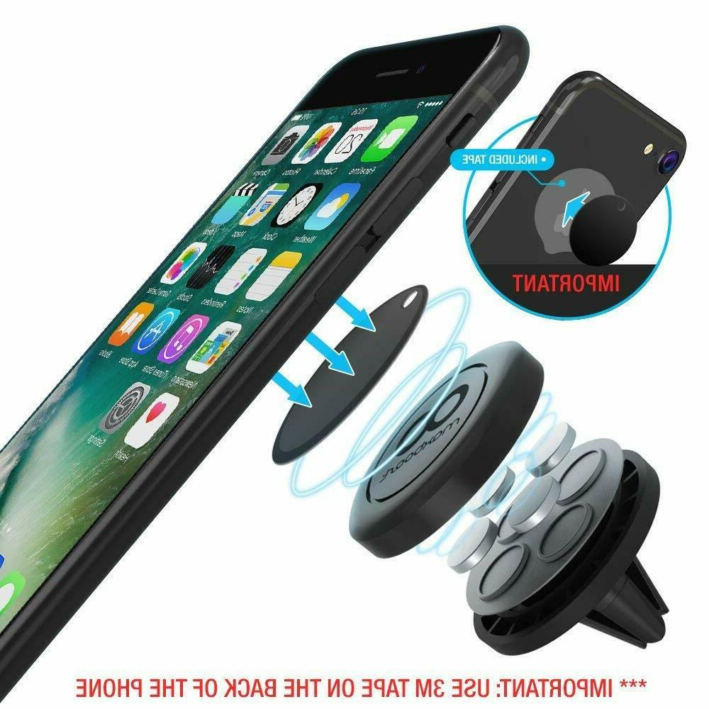 Car Mount, Maxboost  Universal Magnetic Phone Car Mounts Hol