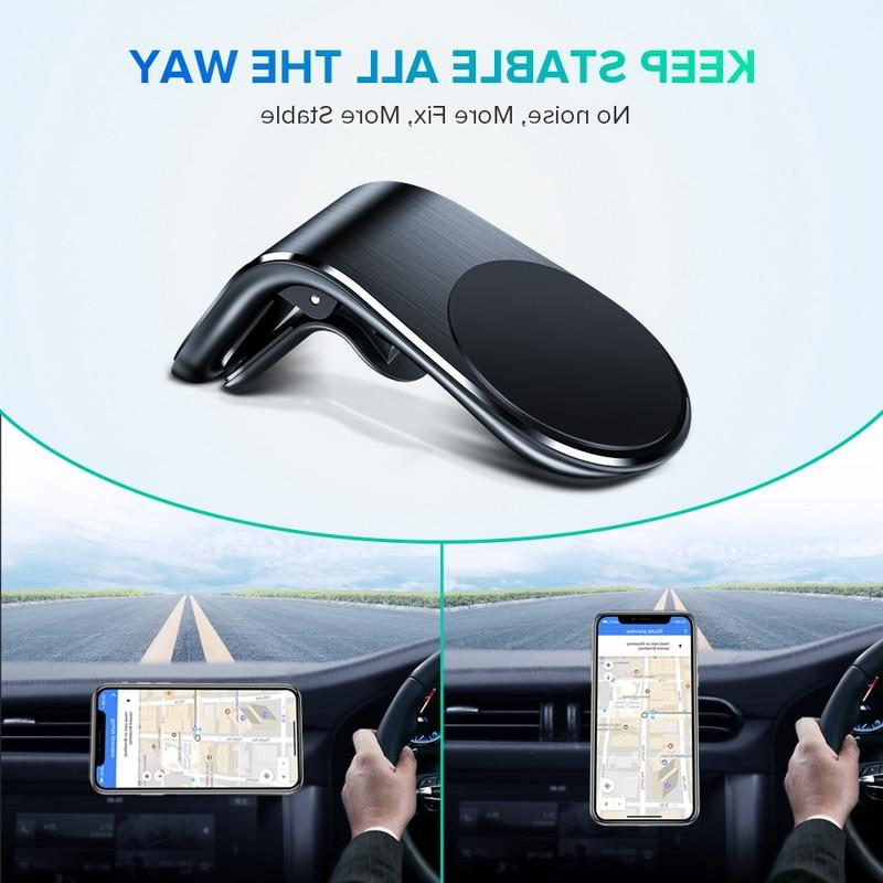 GETIHU Magnetic <font><b>Car</b></font> Phone Vent Mobile Stand For XS Max in