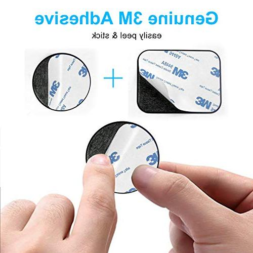 Metal Plate Magnet, MagicPlate Adhesive Replacement for Car Cradle & Rectangle