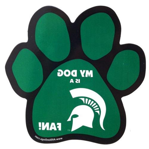 ncaa michigan state spartans paw