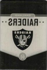 Pro Specialties Group NFL Oakland Raiders Fridge Magnet, Bla