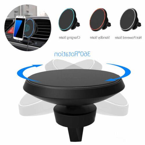 Qi Car Cell Phone Wireless Magnetic