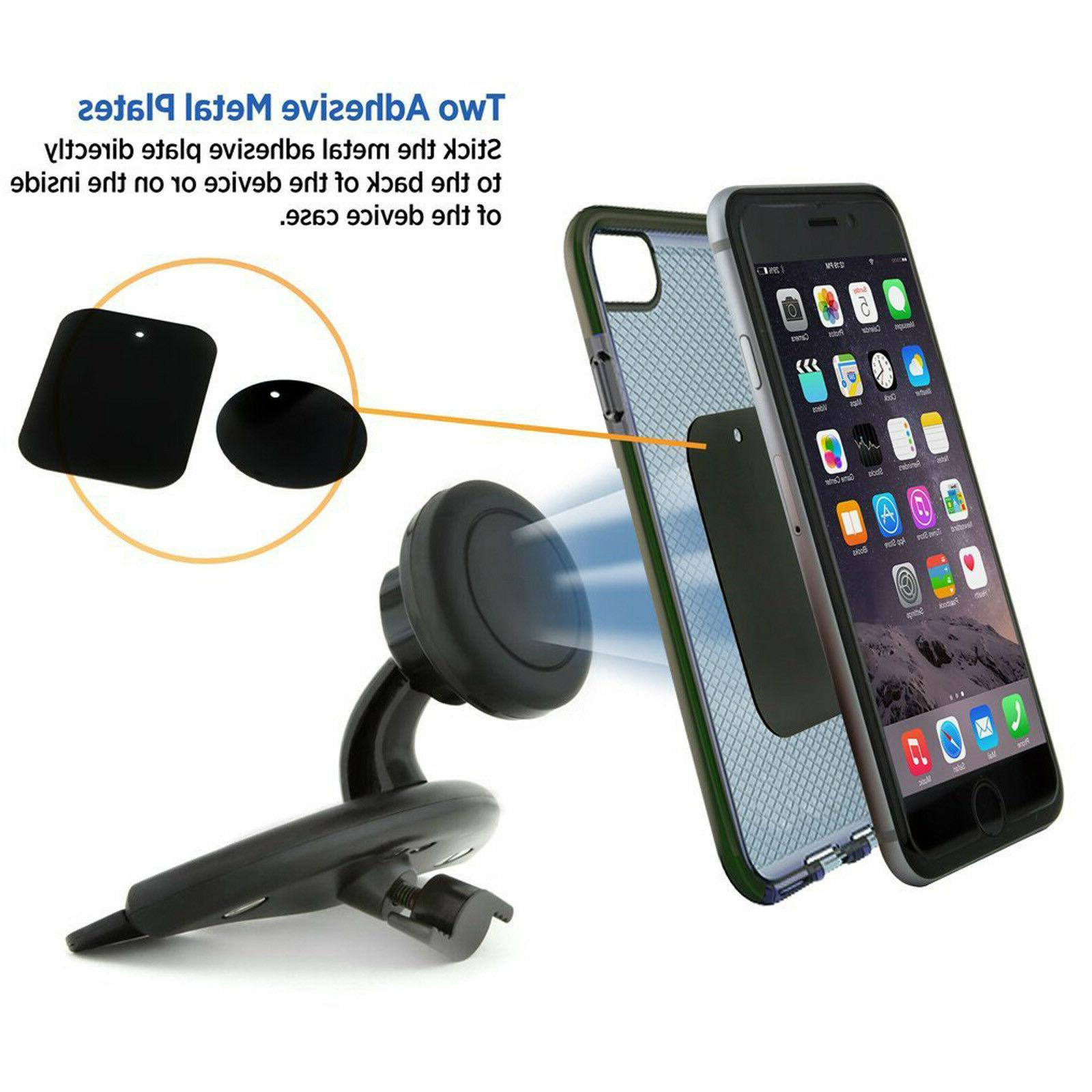 Car CD Slot Magnetic For iPhone Phone GPS