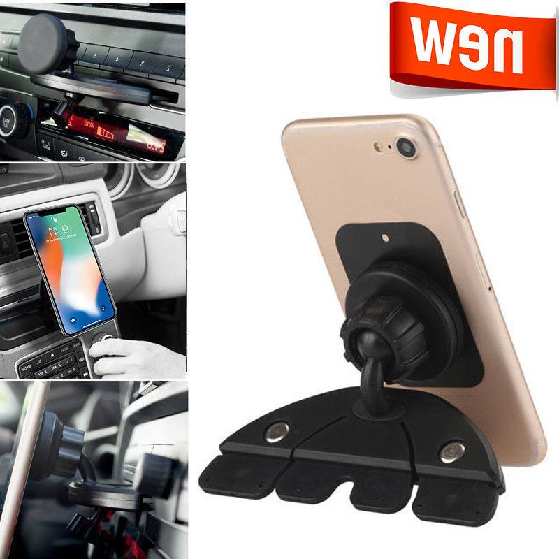 Car Magnet Mount CD Slot Magnetic Holder Stand For Mobile iP