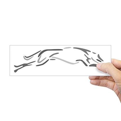shades grey greyhound bumper sticker