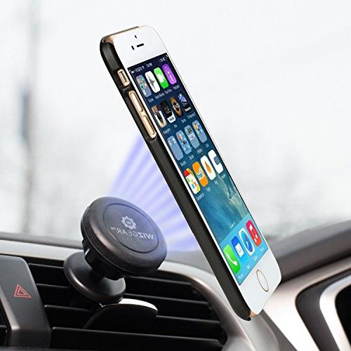 WizGear Air Magnetic for Mini with Swift-Snap Technology Magnetic Phone Mount with Head
