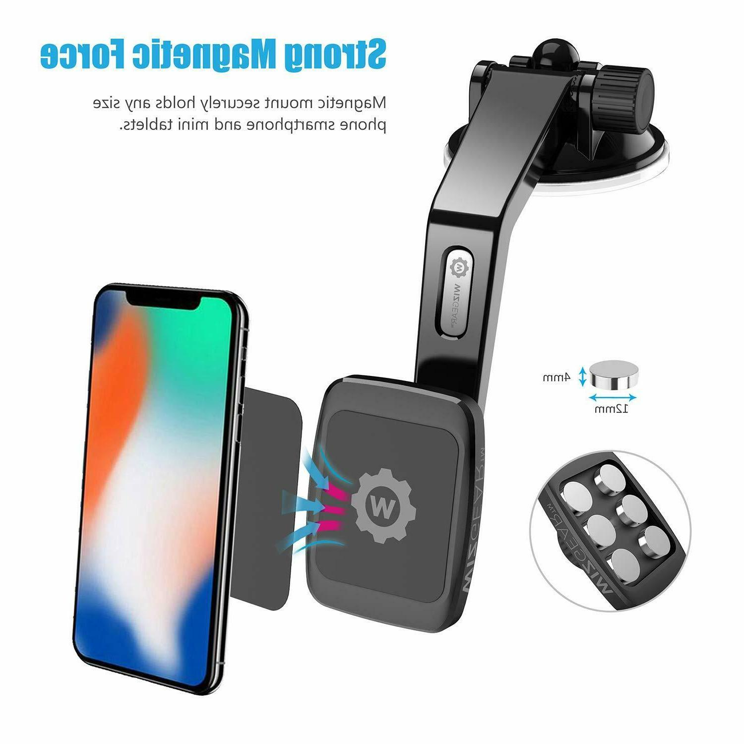 WizGear Dashboard Magnetic Phone Mount Tablets