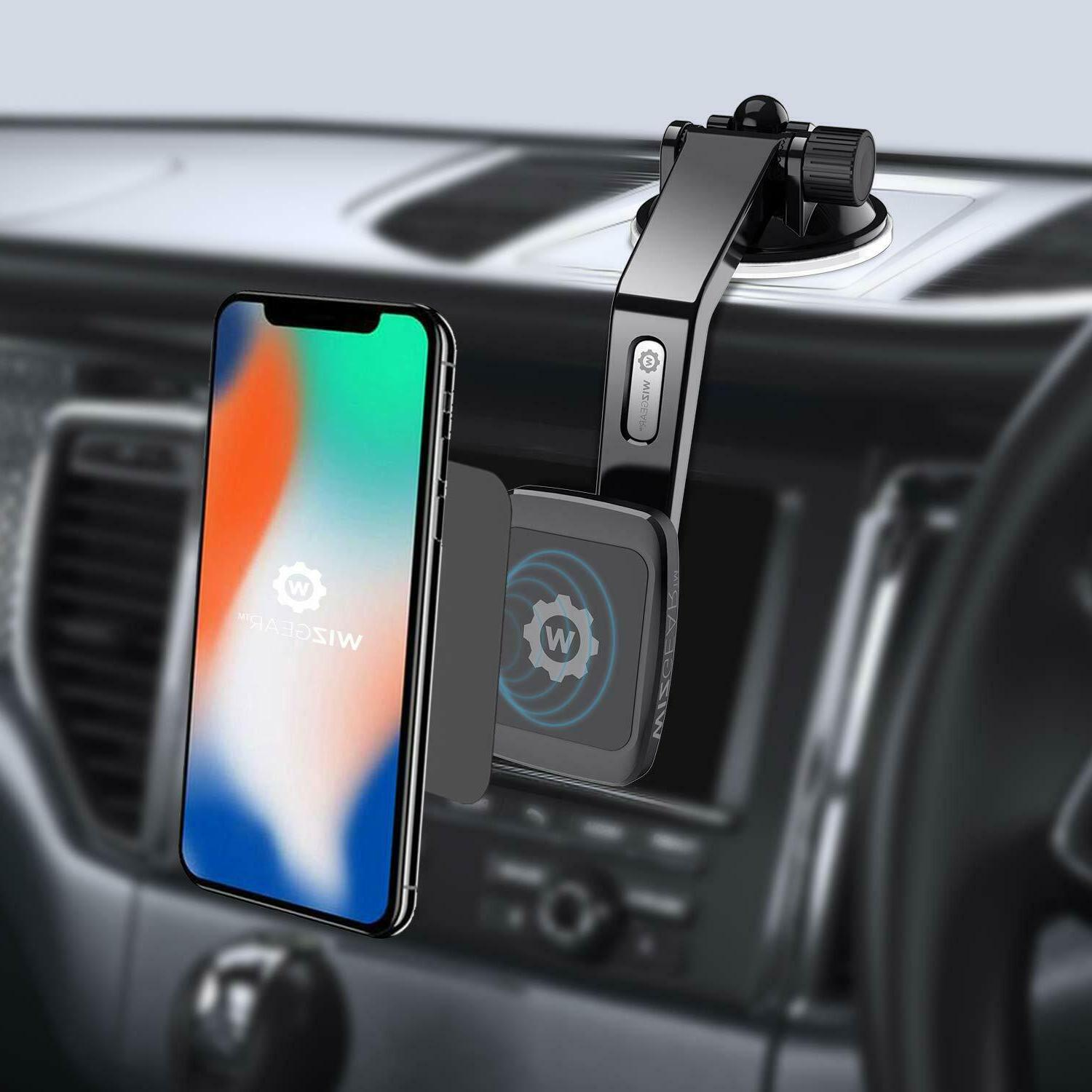 WizGear Universal Magnetic Phone Mount Mini
