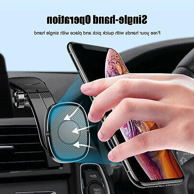 Universal Magnetic Car Mount Cell Phone Holder Dashboard iPhone
