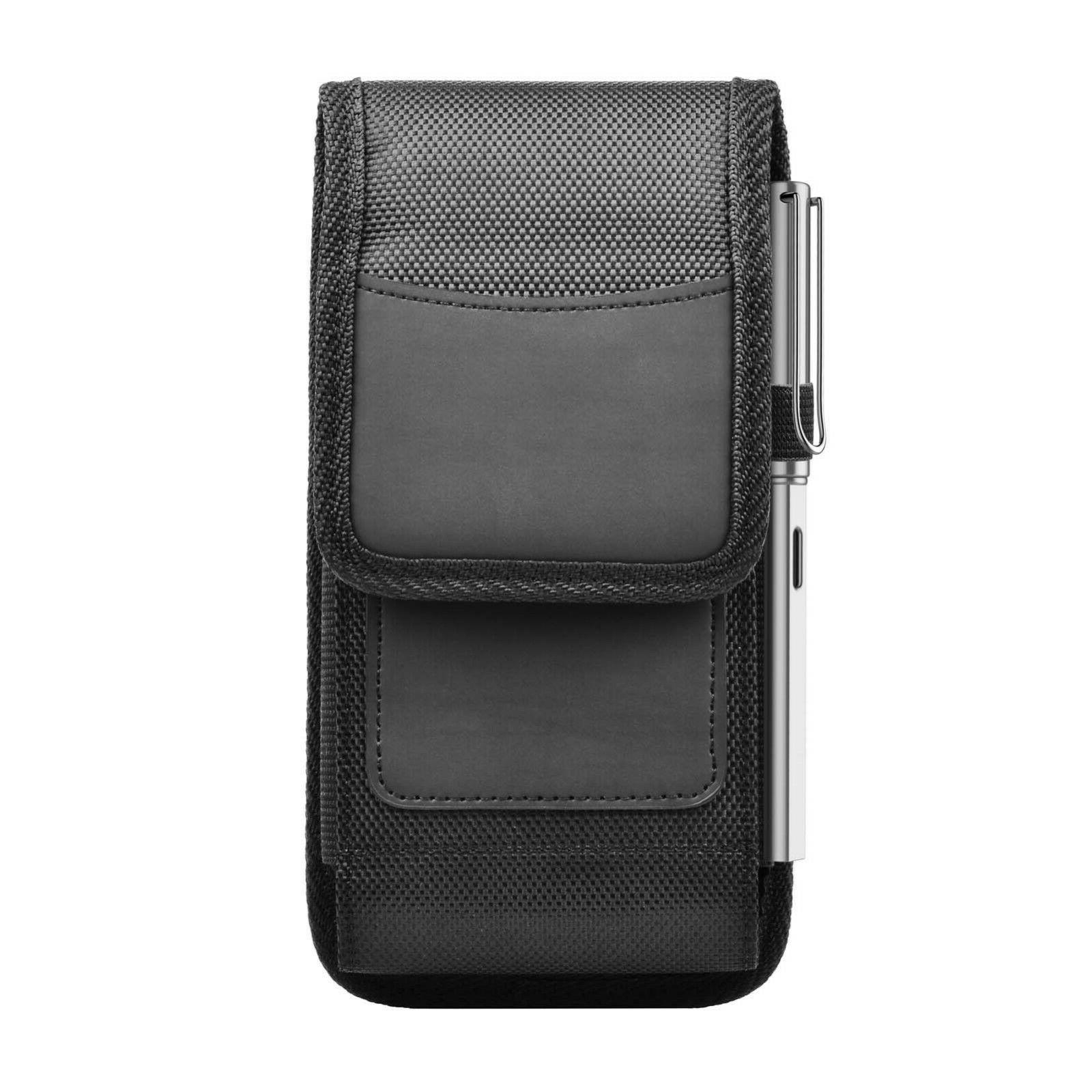 Vertical Holster Pouch with Belt Clip Loop iPhone Samsung