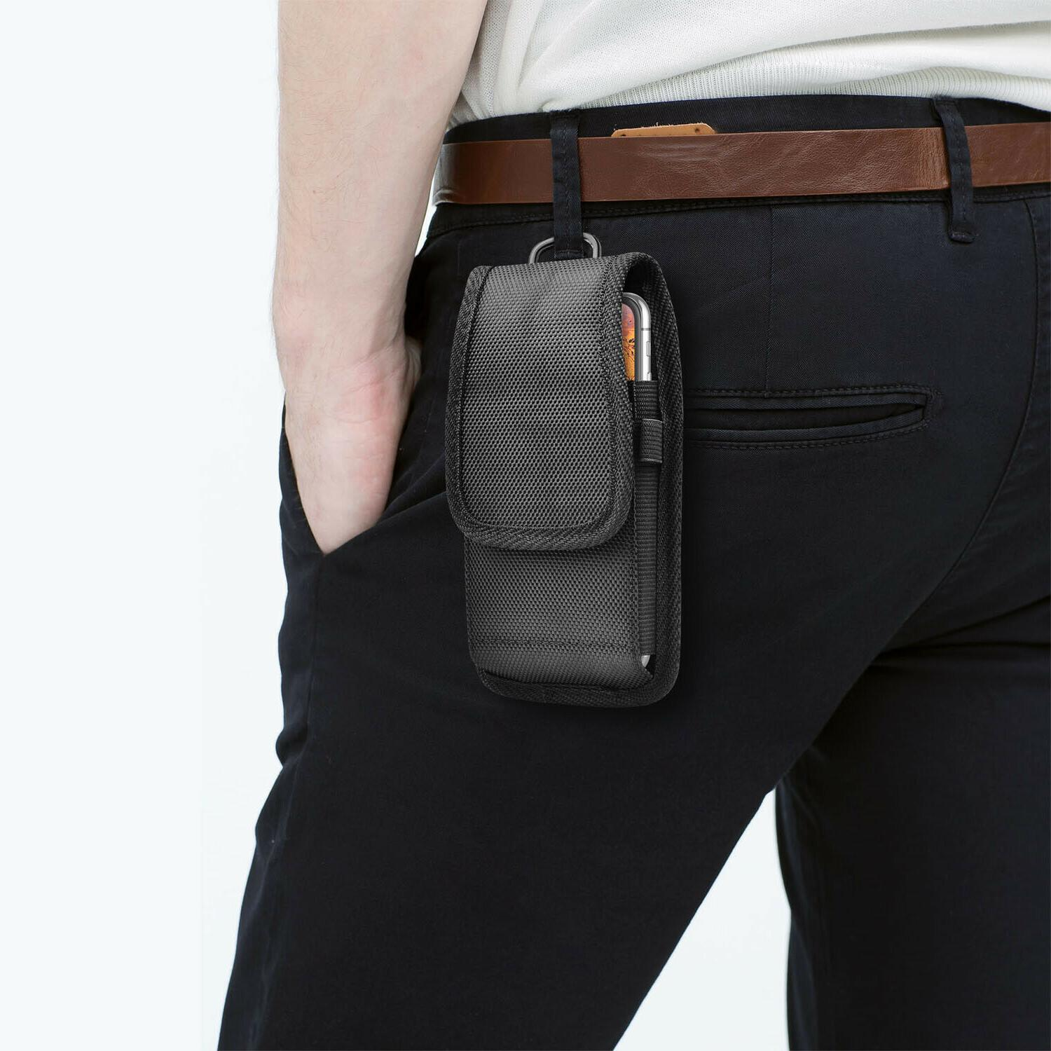 Vertical Holster Pouch Case Clip Loop for iphone Samsung