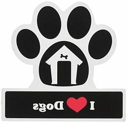 LittleGifts Dog Lover Paw Car Magnet