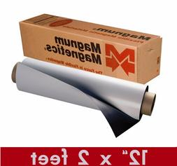 """Magnum Mag 12"""" width x 2 Ft ROLL 30 Mil. Blank Magnetic Sign"""