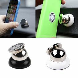 Magnetic Car Cell Phone Holder Mount Dash 360 Rotating For i