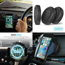 Maxboost Magnetic Car Mount,  Universal Flat Stick-on Dashbo