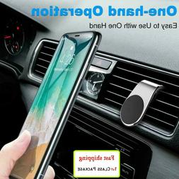 Magnetic Car Mount Car Phone Holder Stand Air Vent For iPhon