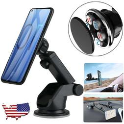 Magnetic Car Mount Holder Windshield Dashboard Suction Stand