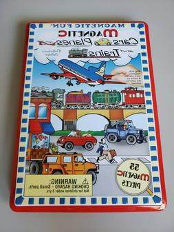 Magnetic Fun - Cars Planes and Trains -Kids-Toys-Games NEW I